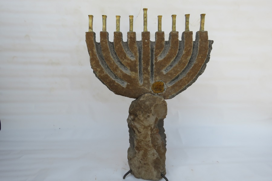 Large Menorahs