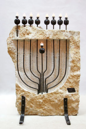 Large Hanucka Menorahs